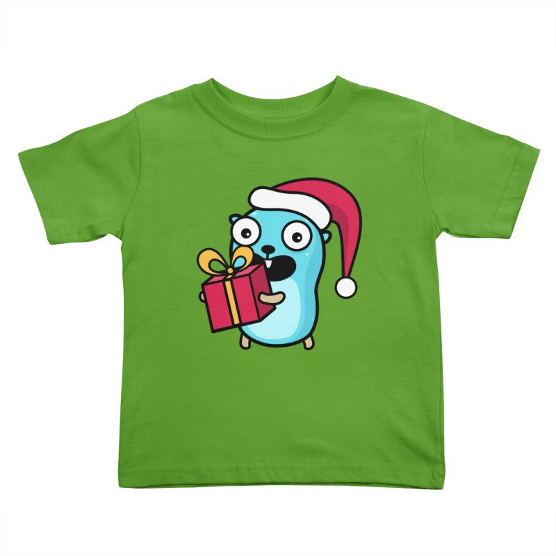 I'm your Santa! Kids Toddler T-Shirt by Be like a Gopher