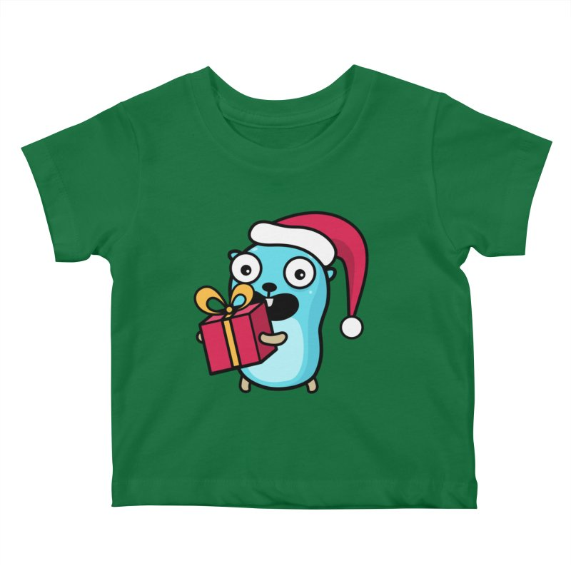 I'm your Santa! Kids Baby T-Shirt by Be like a Gopher