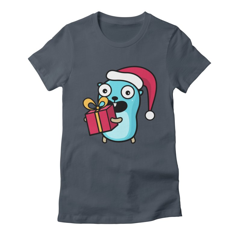 I'm your Santa! Women's T-Shirt by Be like a Gopher