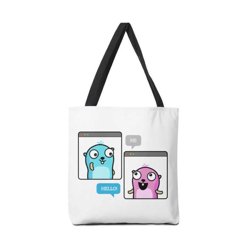 Hi! Accessories Bag by Be like a Gopher