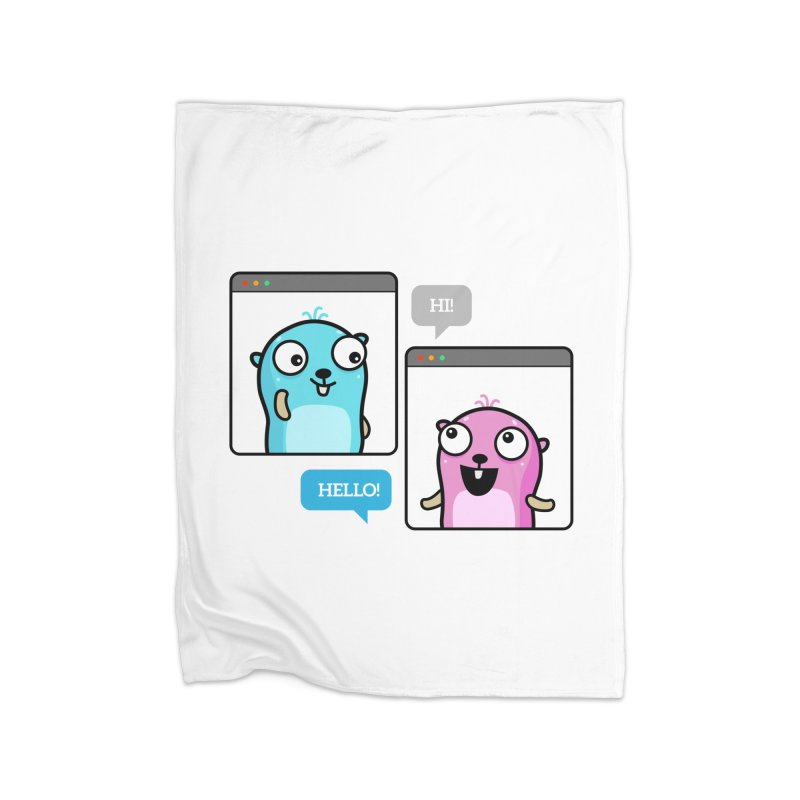 Hi! Home Blanket by Be like a Gopher