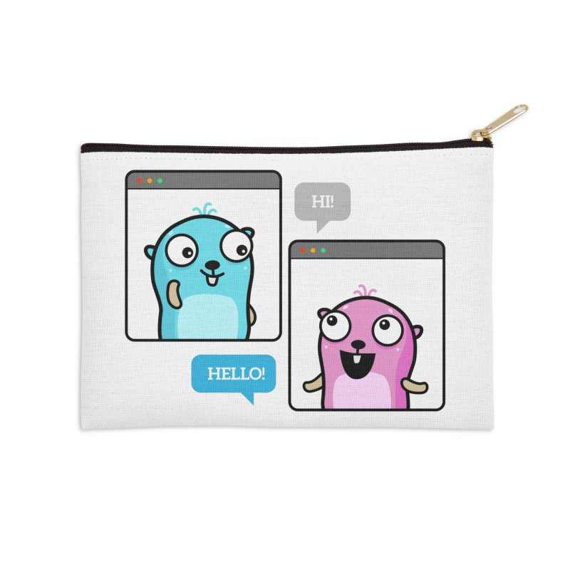 Hi! Accessories Zip Pouch by Be like a Gopher