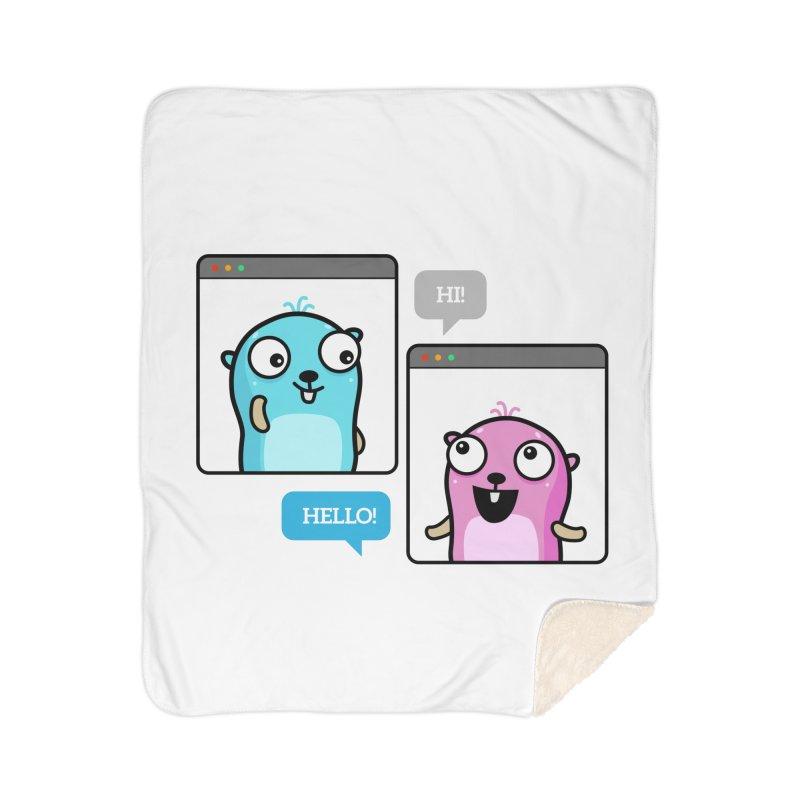 Hi! Home Blanket by Be like a Gopher