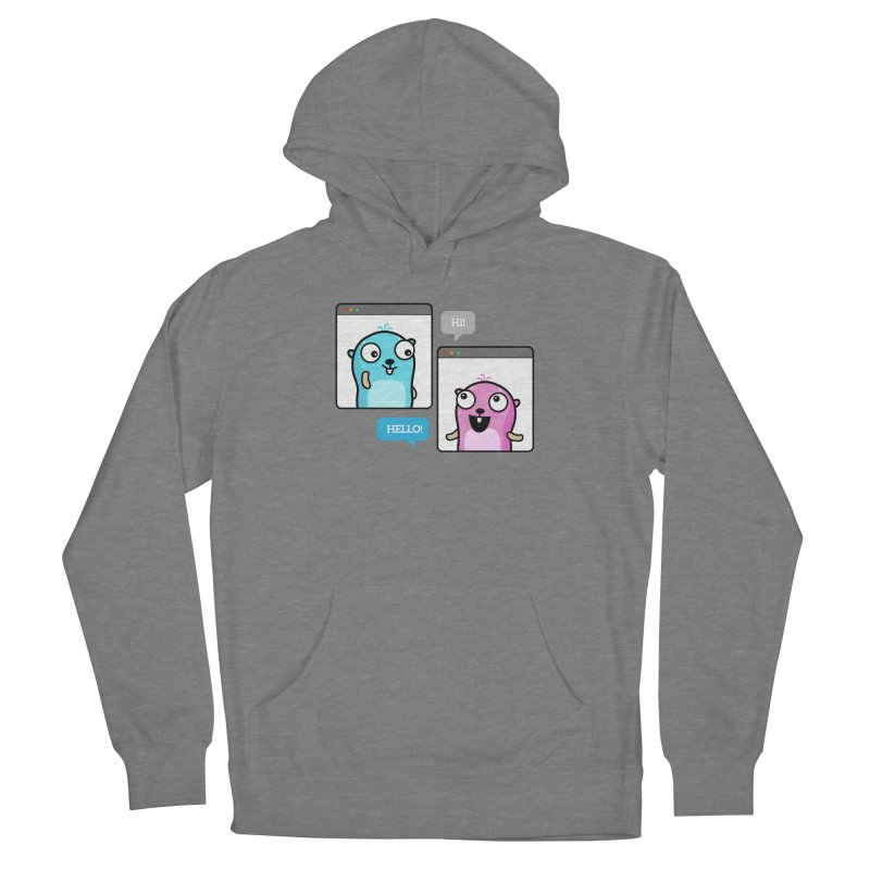 Hi! Women's Pullover Hoody by Be like a Gopher