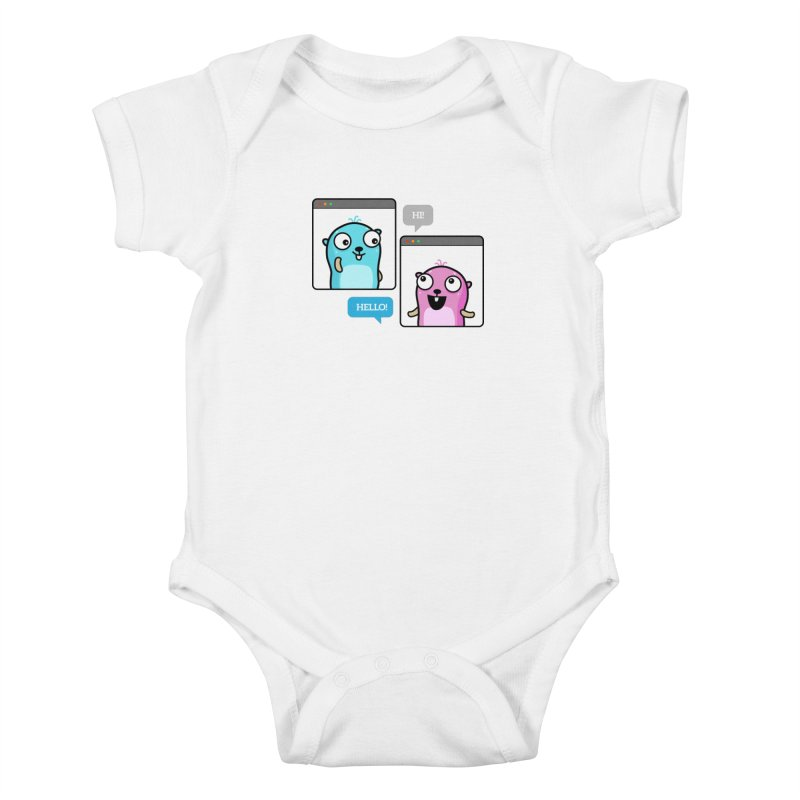 Hi! Kids Baby Bodysuit by Be like a Gopher