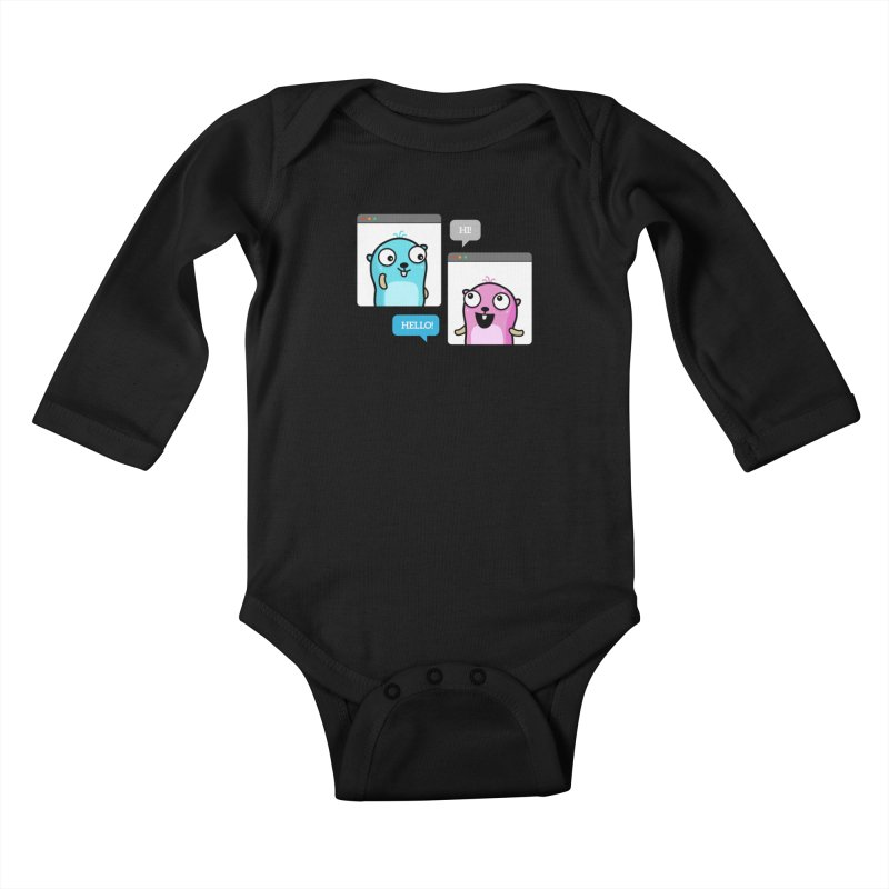 Hi! Kids Baby Longsleeve Bodysuit by Be like a Gopher