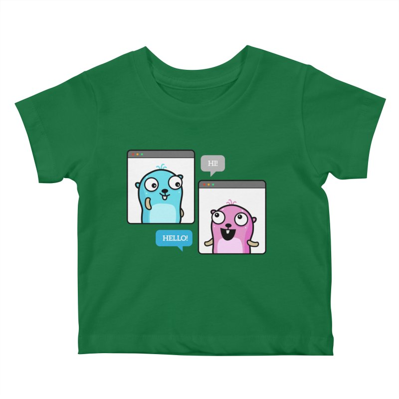 Hi! Kids Baby T-Shirt by Be like a Gopher