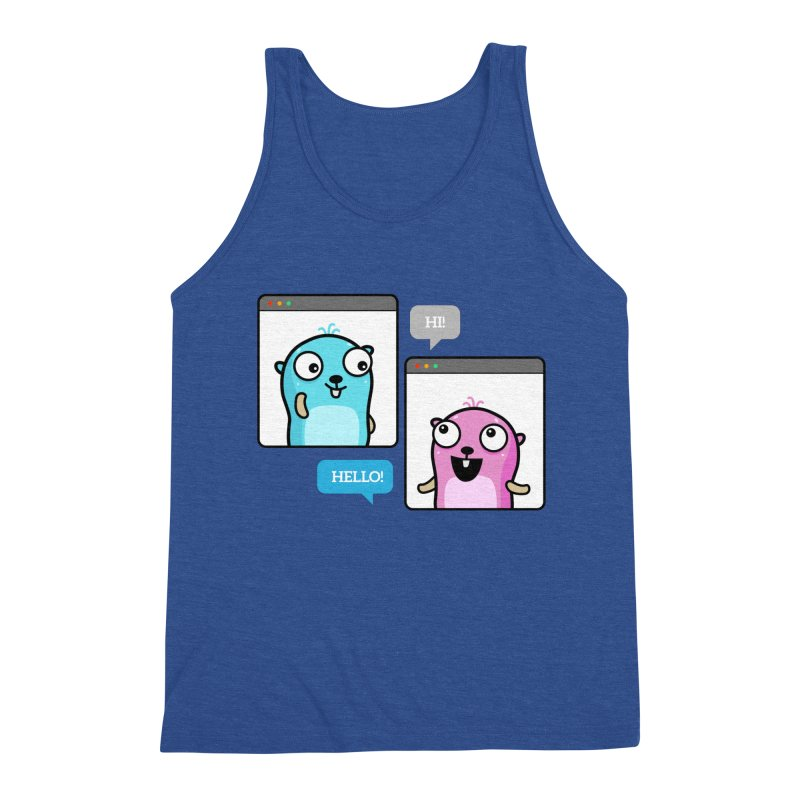 Hi! Men's Tank by Be like a Gopher