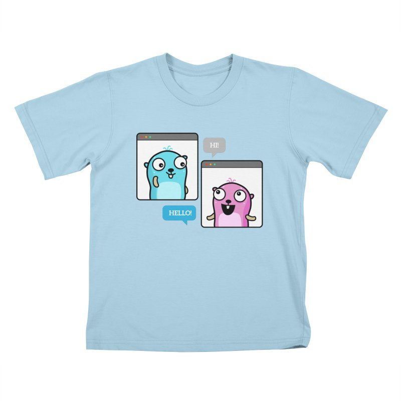 Hi! Kids T-Shirt by Be like a Gopher