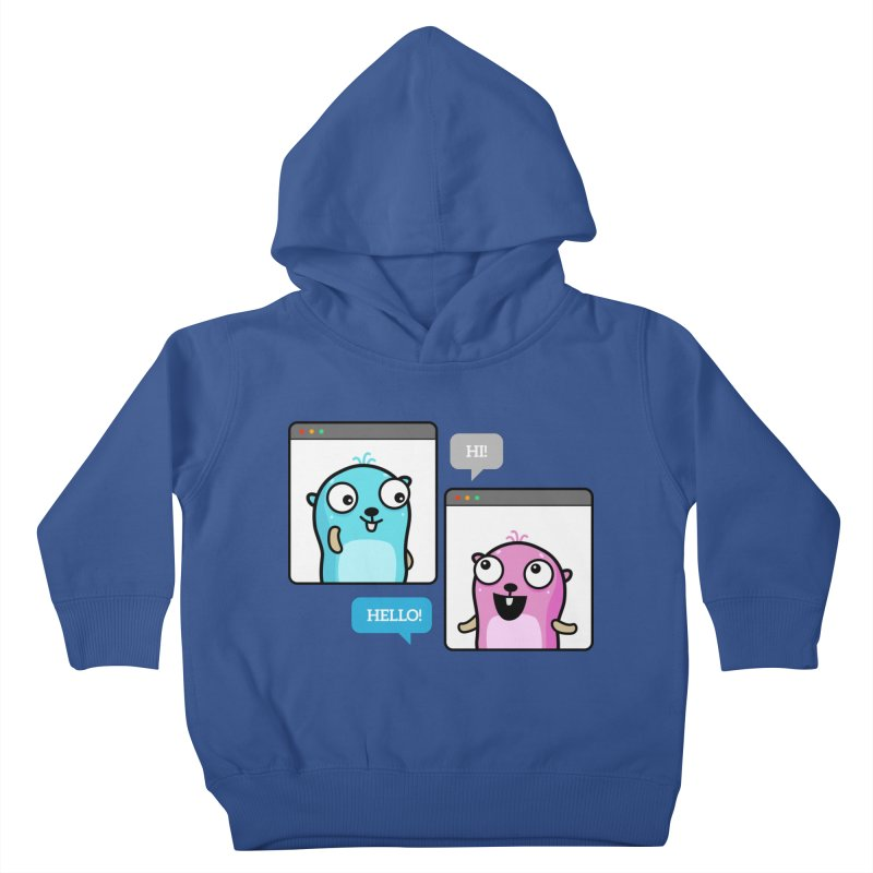 Hi! Kids Toddler Pullover Hoody by Be like a Gopher