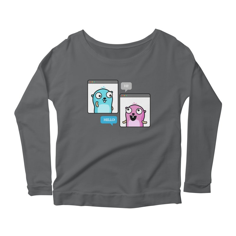 Hi! Women's Longsleeve T-Shirt by Be like a Gopher