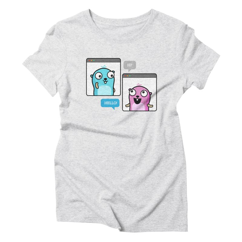 Hi! Women's T-Shirt by Be like a Gopher