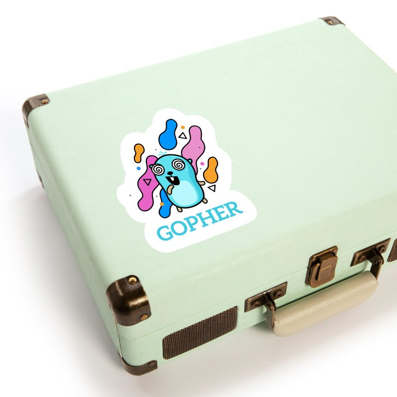 Space gopher Accessories Sticker by Be like a Gopher