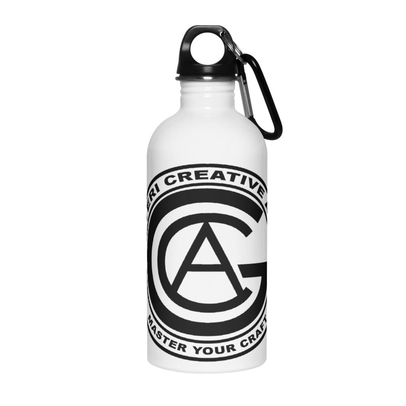 GOTERI CREATIVE ARTS Accessories Water Bottle by Goteri Gear Artist Shop
