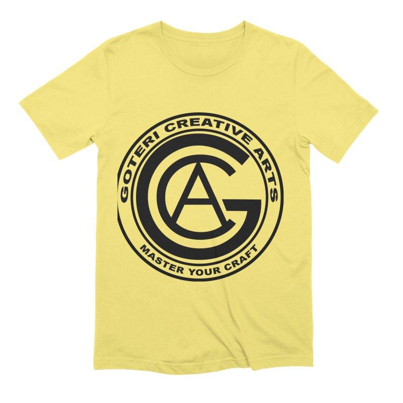 GOTERI CREATIVE ARTS Men's Extra Soft T-Shirt by Goteri Gear Artist Shop