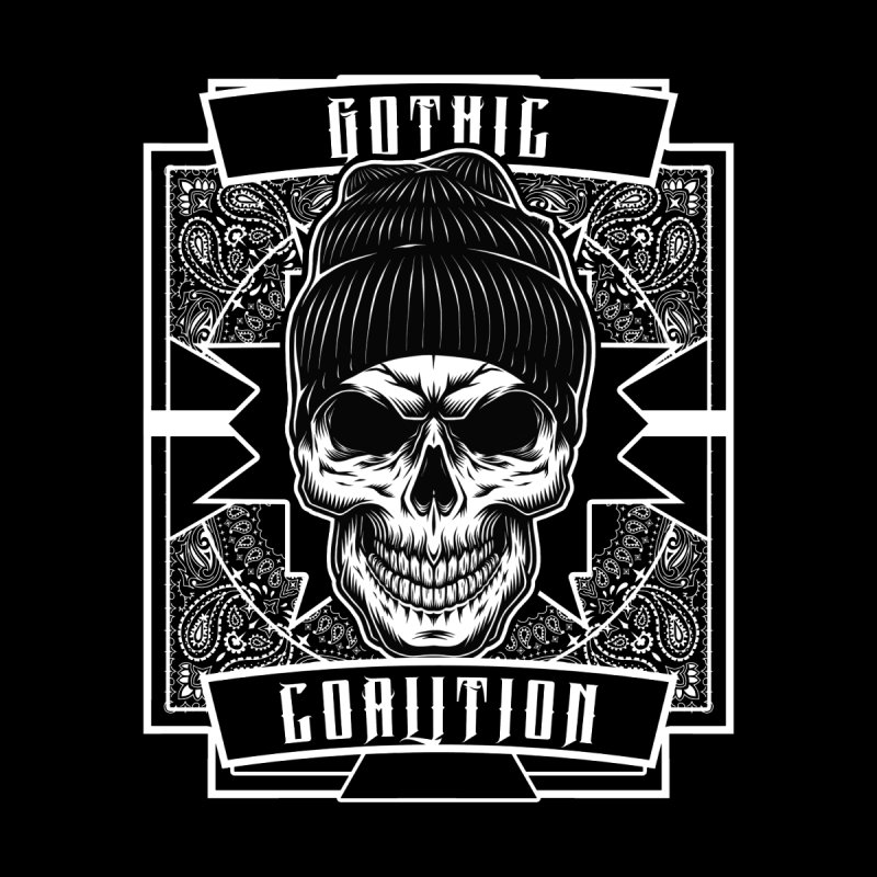 Gothic Coalition Apparel Men's T-Shirt by Gothic Coalition Clothing