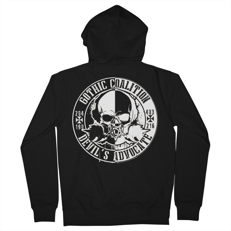 One Piece Men's Zip-Up Hoody by Gothic Coalition Clothing