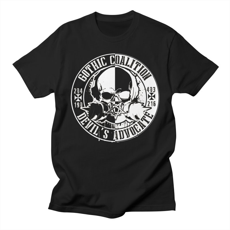 One Piece Men's Regular T-Shirt by Gothic Coalition Clothing