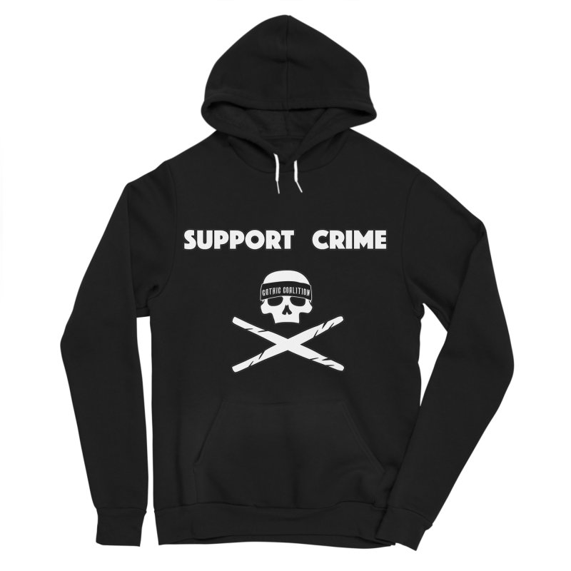 SupportCime Men's Pullover Hoody by Gothic Coalition Clothing