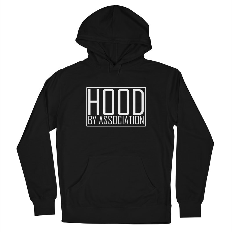 HBA WHITE Men's Pullover Hoody by Gothic Coalition Clothing