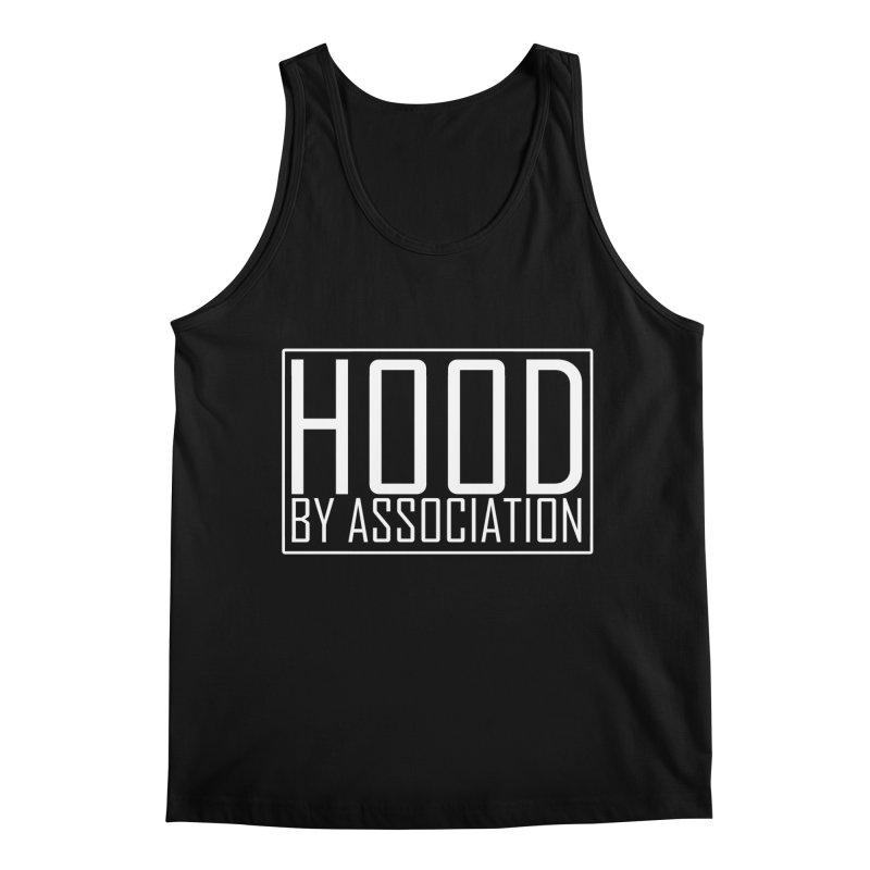 HBA WHITE Men's Regular Tank by Gothic Coalition Clothing