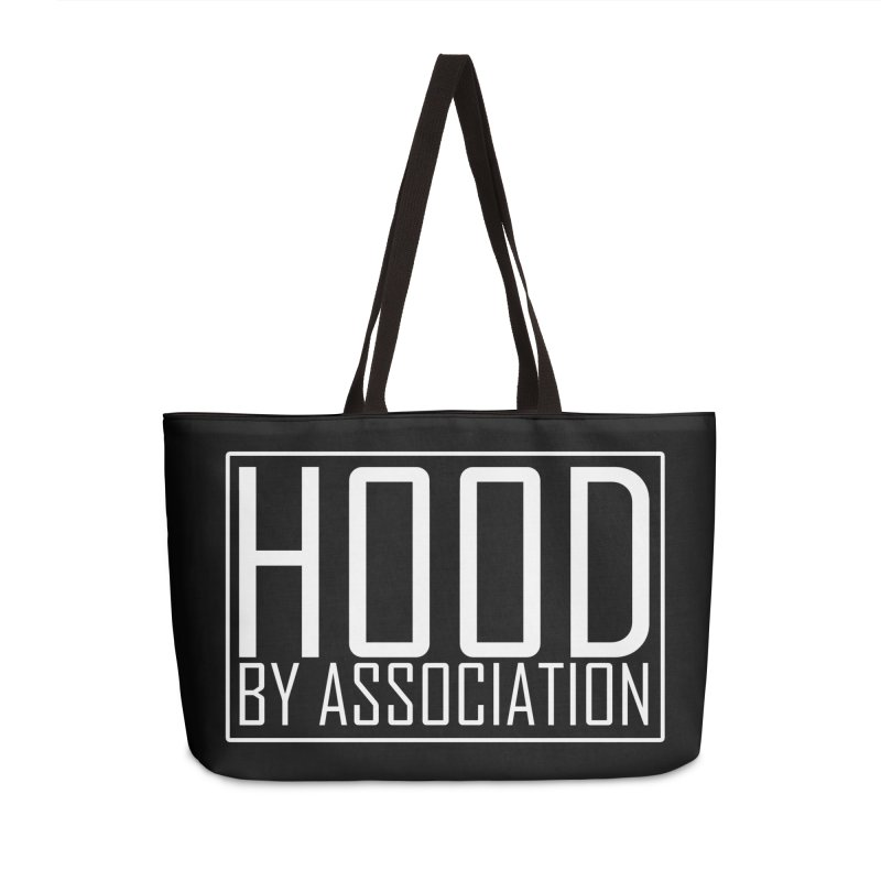 HBA WHITE Accessories Weekender Bag Bag by Gothic Coalition Clothing