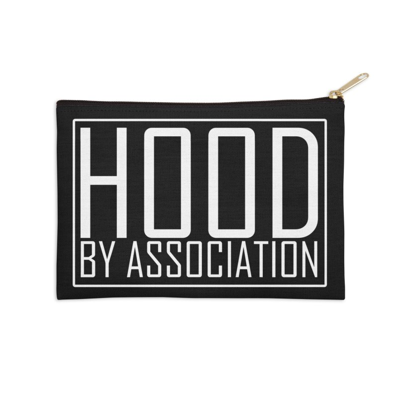 HBA WHITE Accessories Zip Pouch by Gothic Coalition Clothing