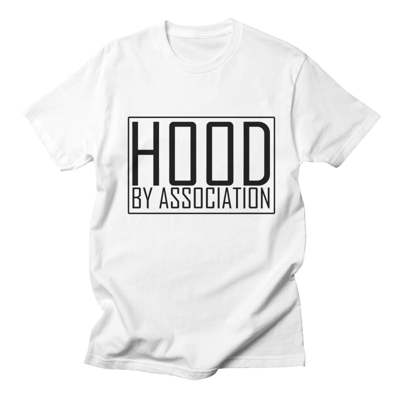 HBA BLACK Men's T-Shirt by Gothic Coalition Clothing