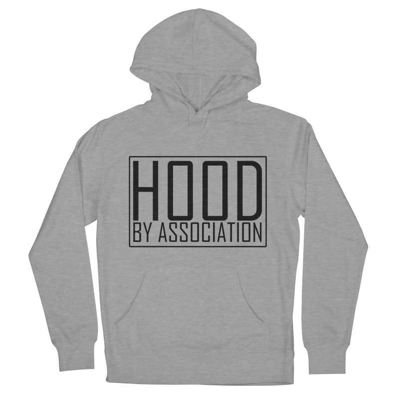 HBA BLACK Men's French Terry Pullover Hoody by Gothic Coalition Clothing
