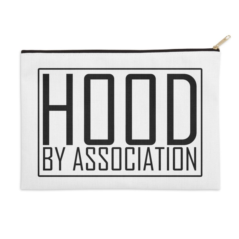 HBA BLACK Accessories Zip Pouch by Gothic Coalition Clothing