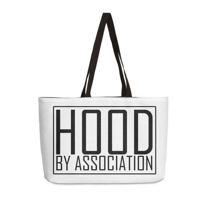 HBA BLACK Accessories Weekender Bag Bag by Gothic Coalition Clothing