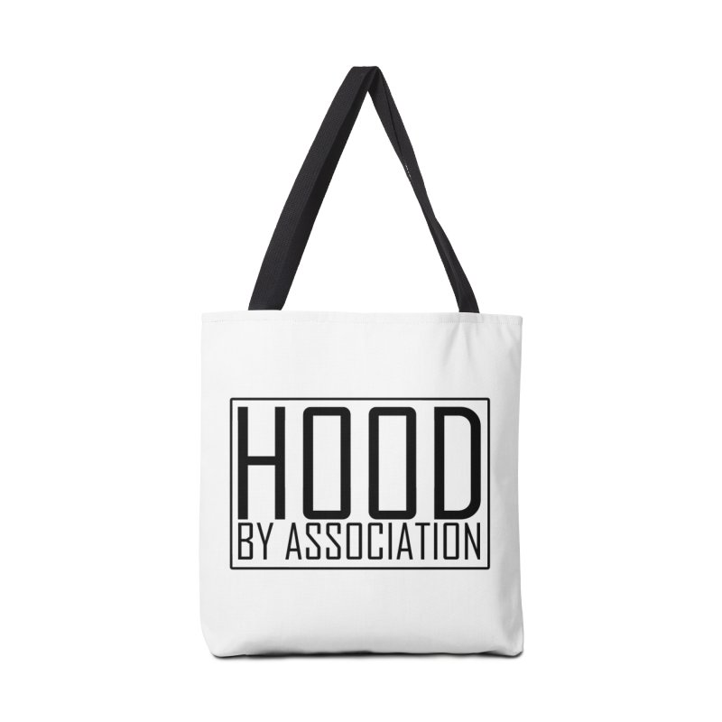 HBA BLACK Accessories Tote Bag Bag by Gothic Coalition Clothing