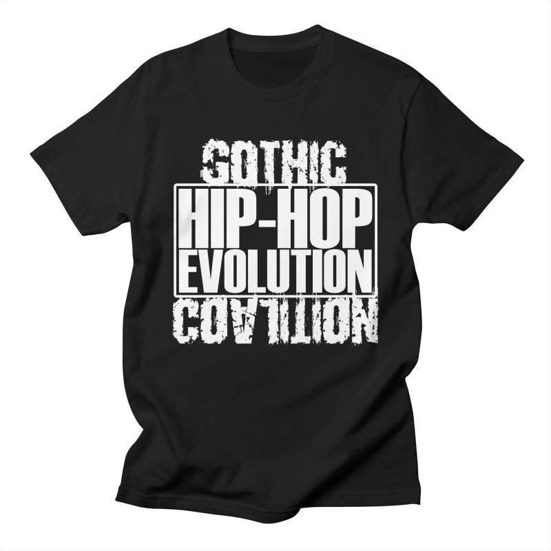 Hip Hop Evolution Men's T-Shirt by Gothic Coalition Clothing