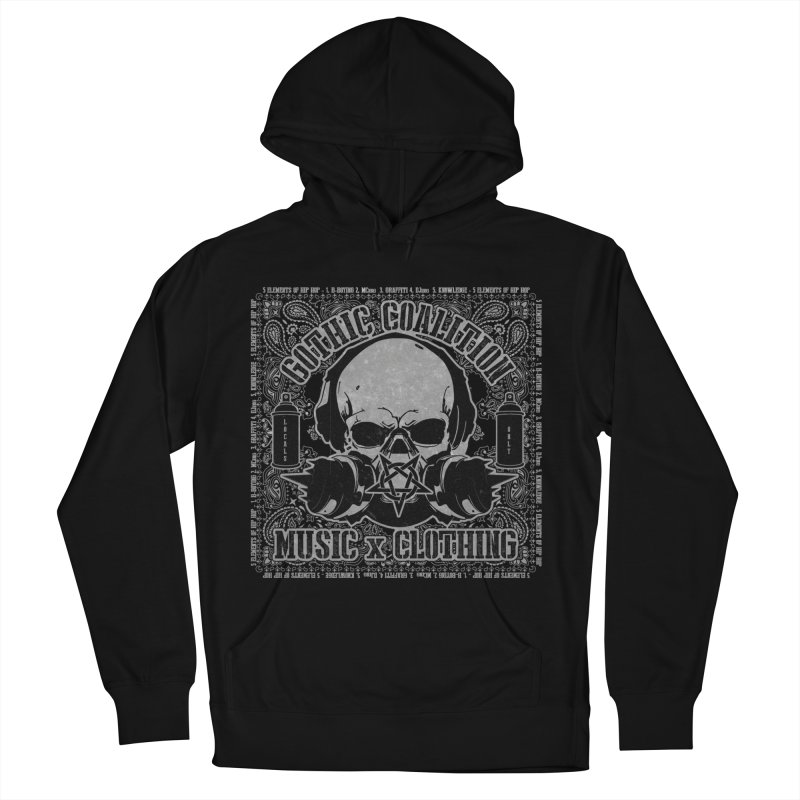 Locals Only Men's French Terry Pullover Hoody by Gothic Coalition Clothing