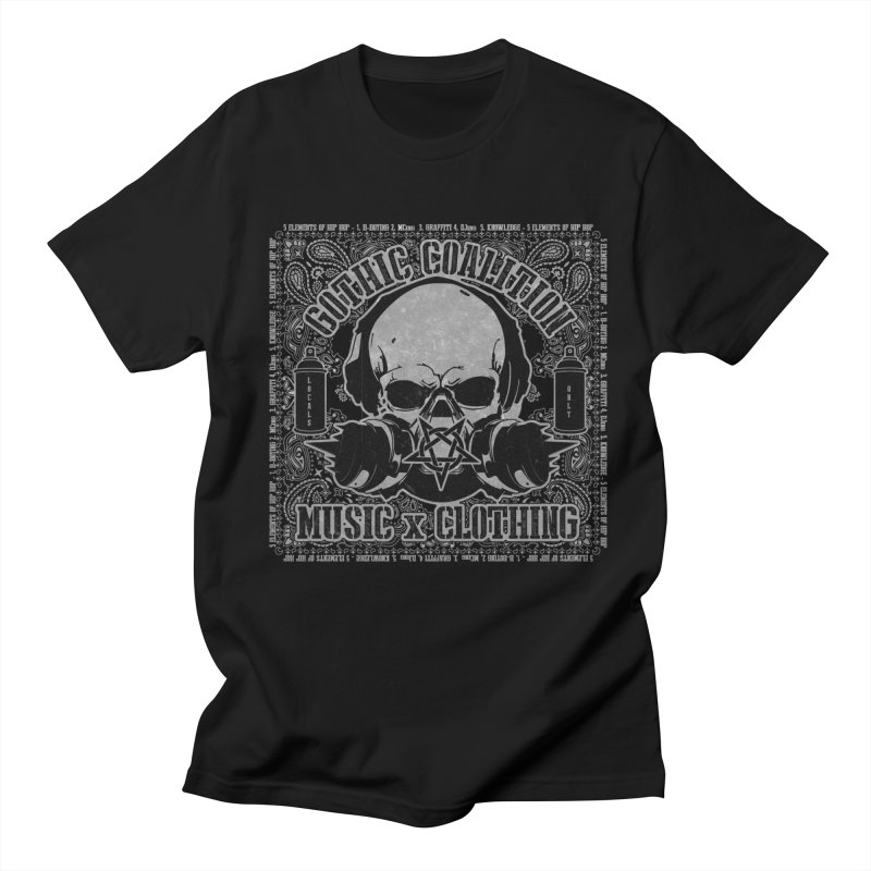 Locals Only Men's Regular T-Shirt by Gothic Coalition Clothing