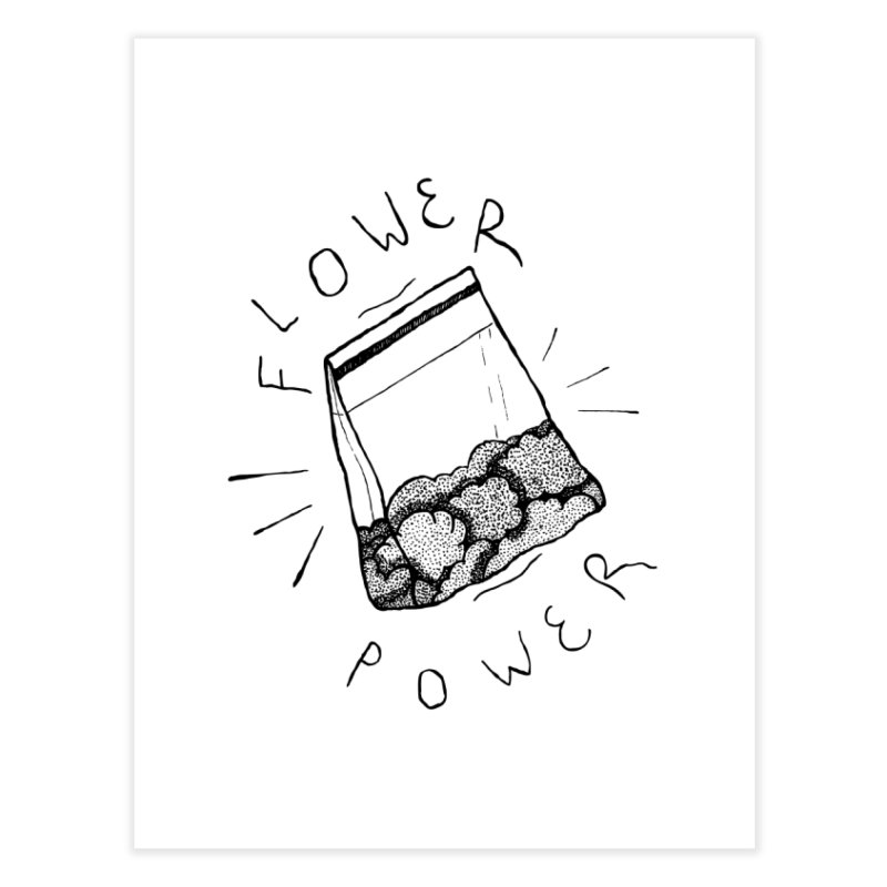 -Flower Power- Home Fine Art Print by GraphicMistake's Artist Shop
