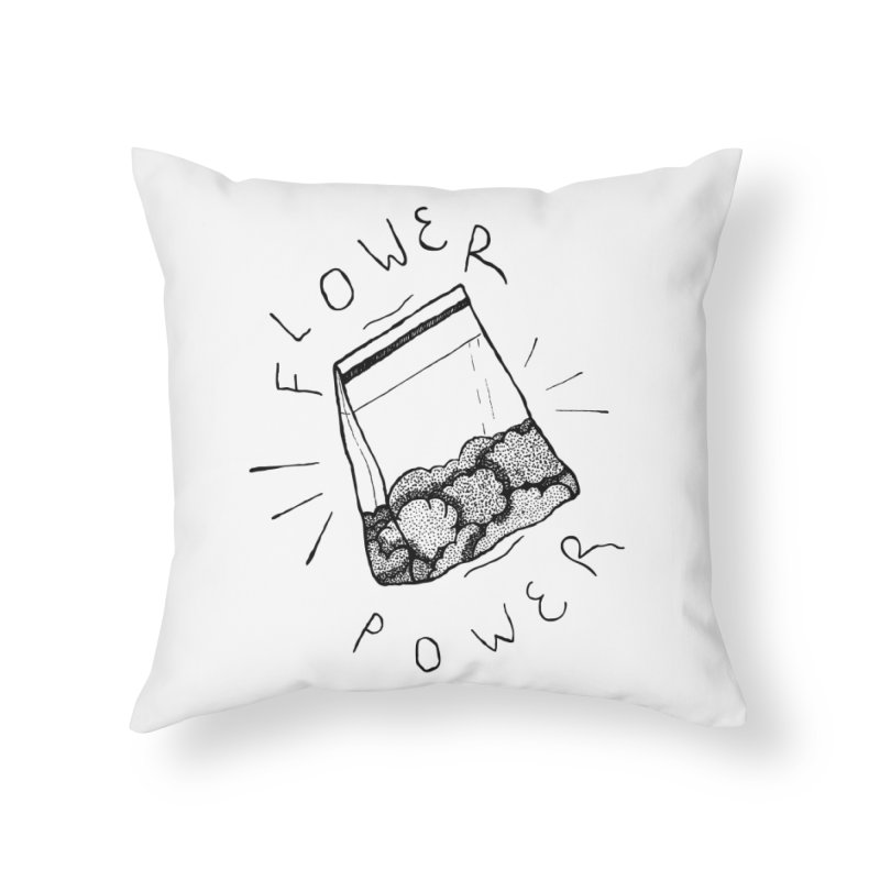 -Flower Power- Home Throw Pillow by GraphicMistake's Artist Shop