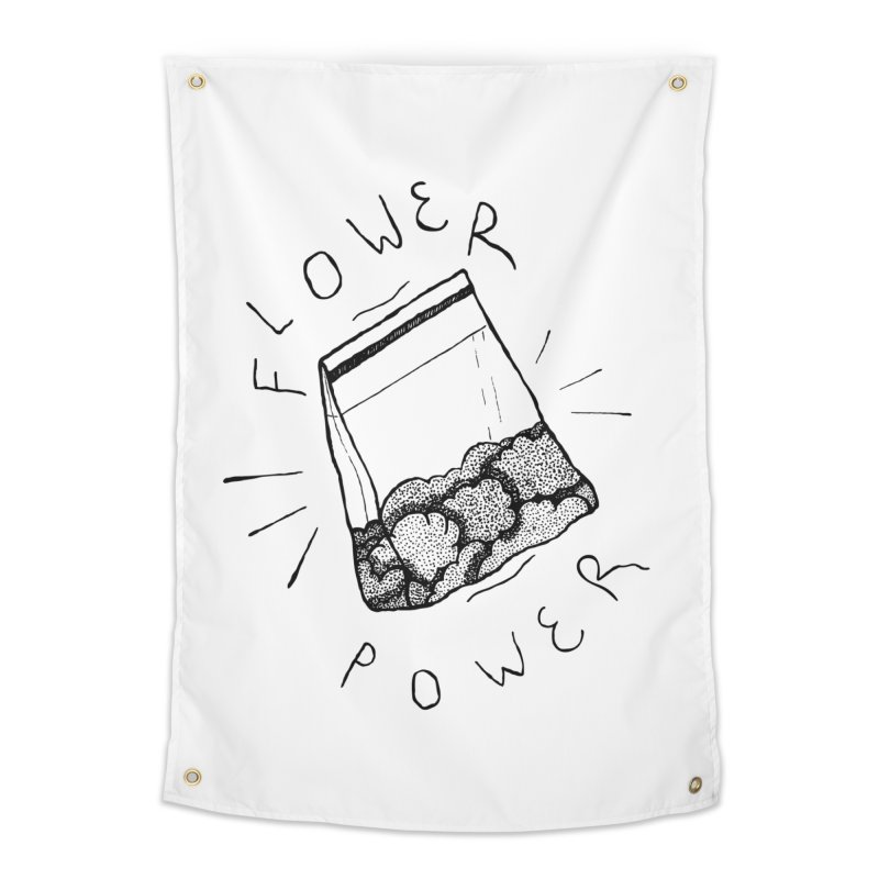 -Flower Power- Home Tapestry by GraphicMistake's Artist Shop