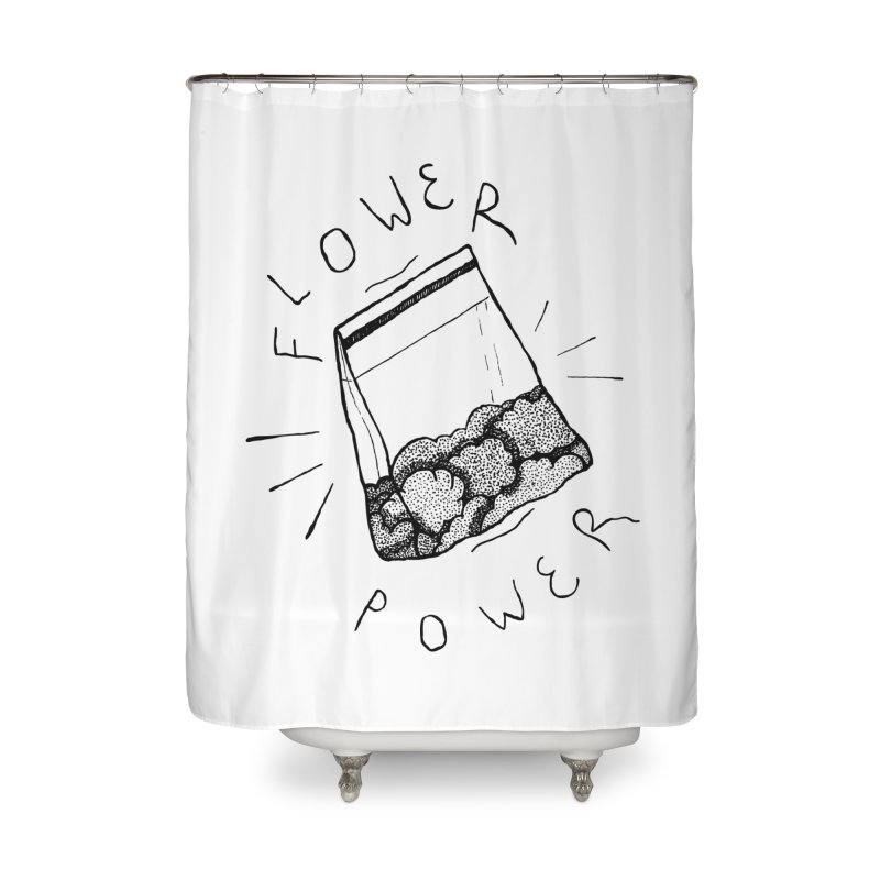 -Flower Power- Home Shower Curtain by GraphicMistake's Artist Shop
