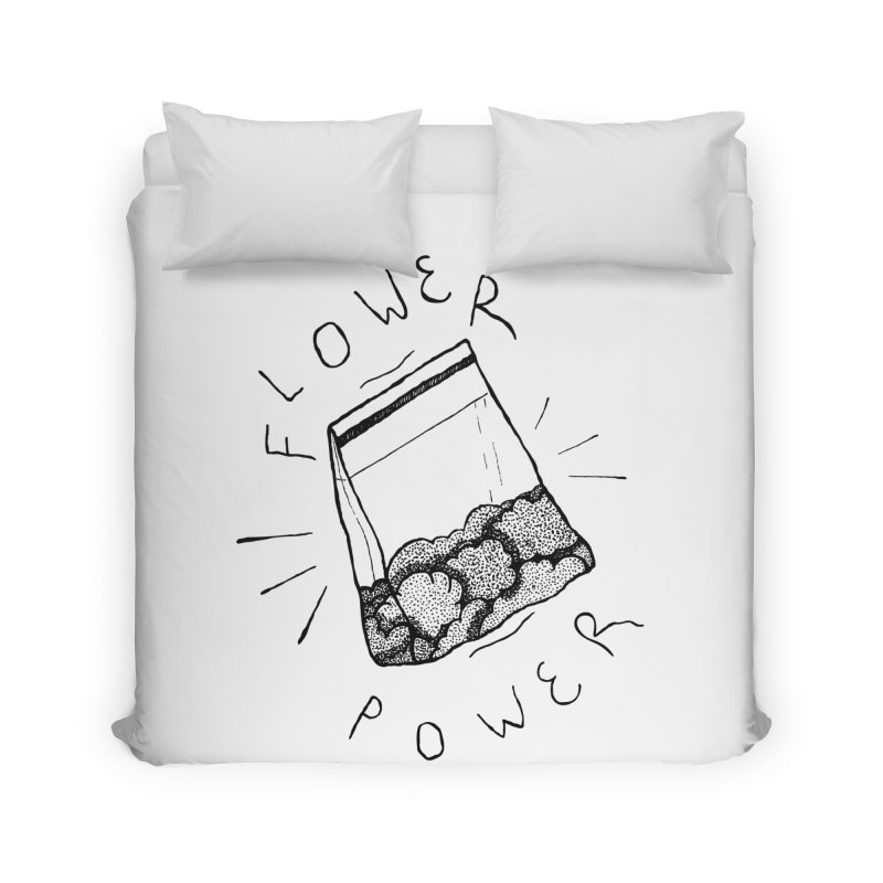 -Flower Power- Home Duvet by GraphicMistake's Artist Shop
