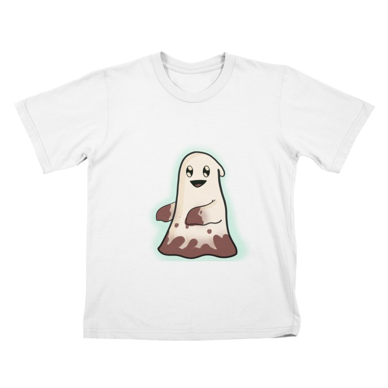 Bloody Ghost Kids T-Shirt by Raptor Co. Tees