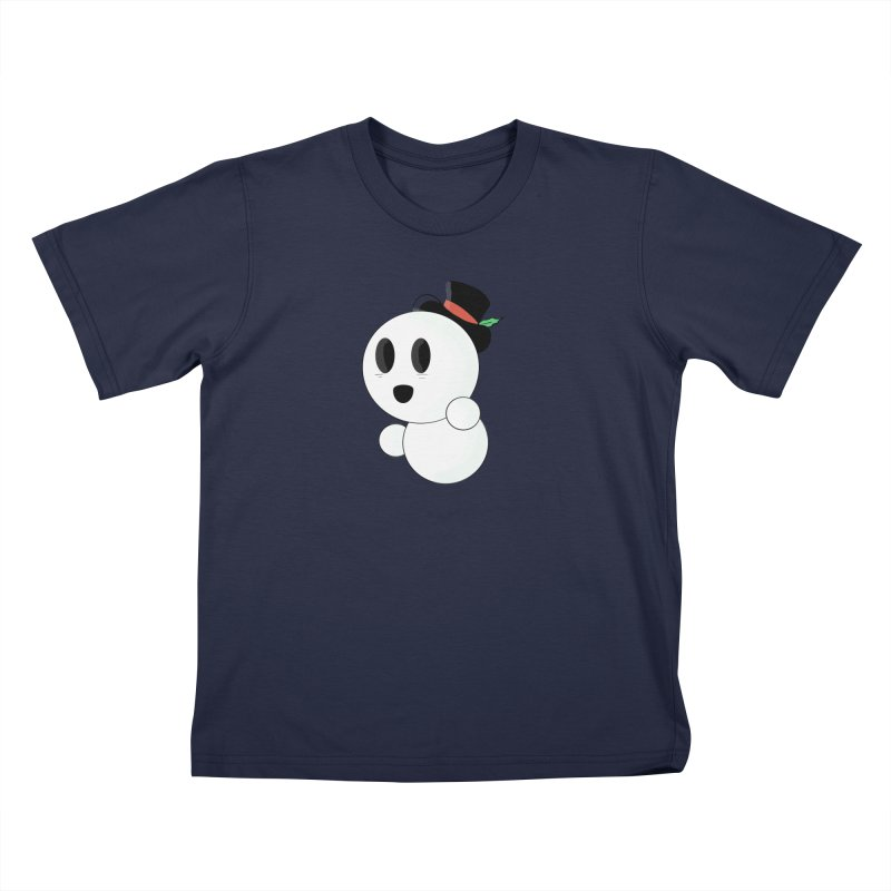 Snoboy! Kids T-Shirt by Raptor Co. Tees