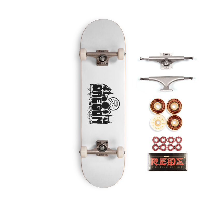 OREGON ROOTS in Black Accessories Skateboard by Green Source Gardens