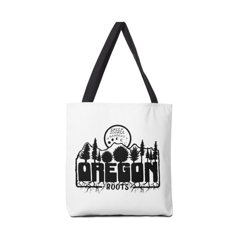 OREGON ROOTS in Black Accessories Bag by Green Source Gardens