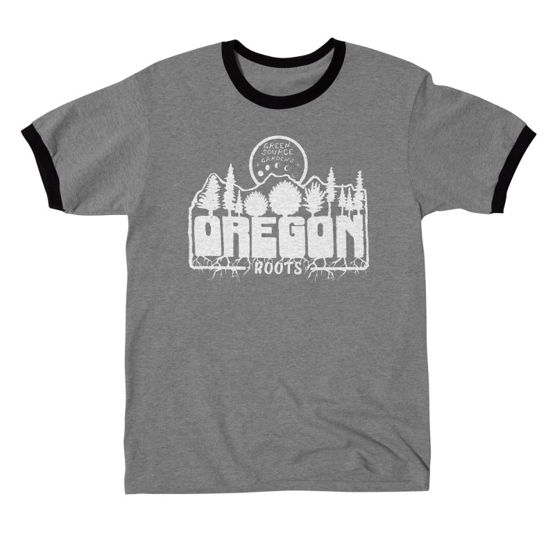 OREGON ROOTS in White Men's T-Shirt by Green Source Gardens