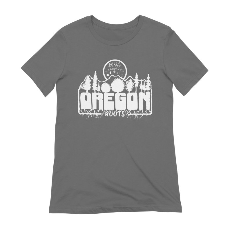 OREGON ROOTS in White Women's T-Shirt by Green Source Gardens
