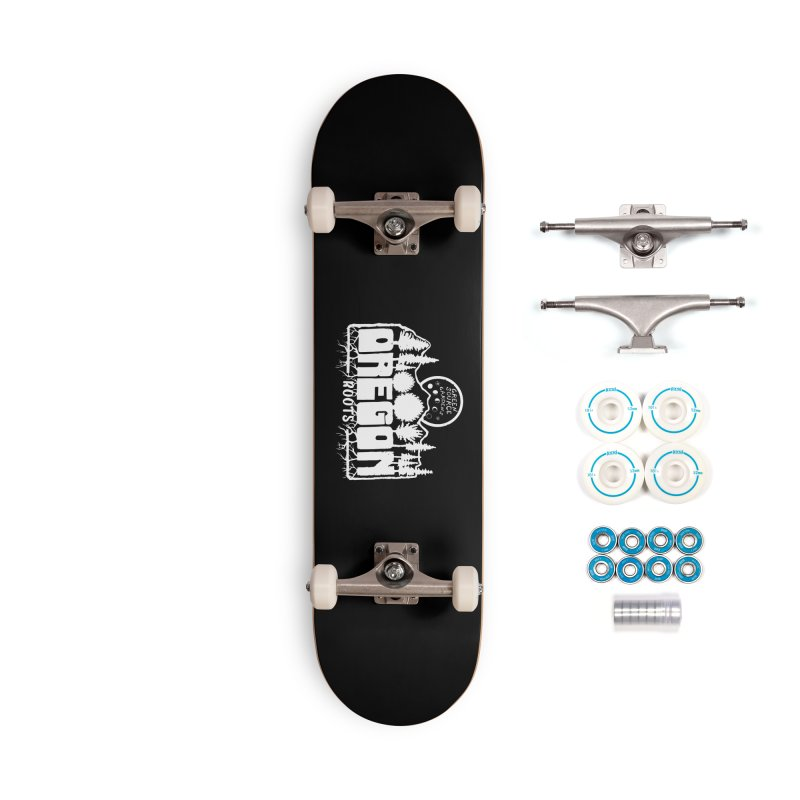 OREGON ROOTS in White Accessories Skateboard by Green Source Gardens