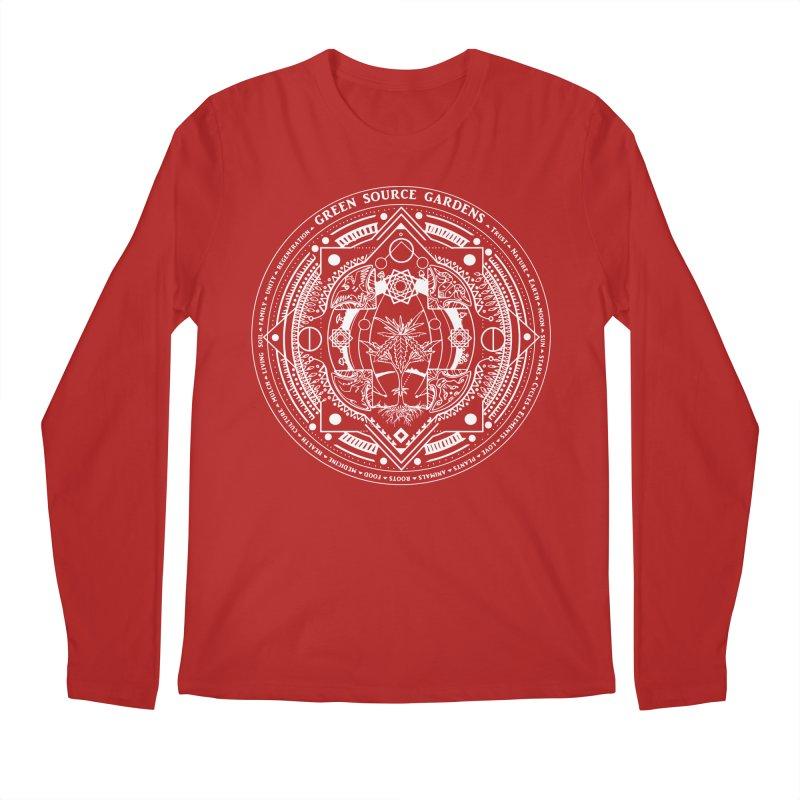 Canna Mandala W Men's Longsleeve T-Shirt by Green Source Gardens