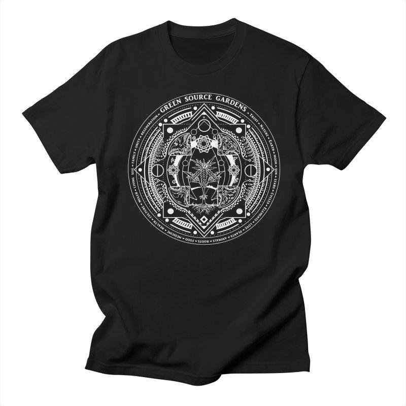 Canna Mandala W Women's Unisex T-Shirt by Green Source Gardens