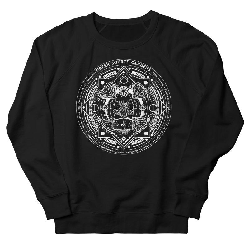 Canna Mandala W Men's Sweatshirt by Green Source Gardens